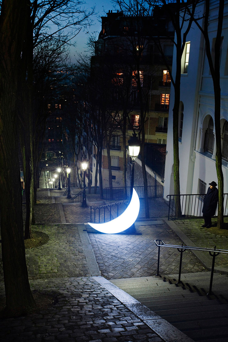 Private Moon in Paris. Homage to Brassai. From Private Moon series, 2010 год