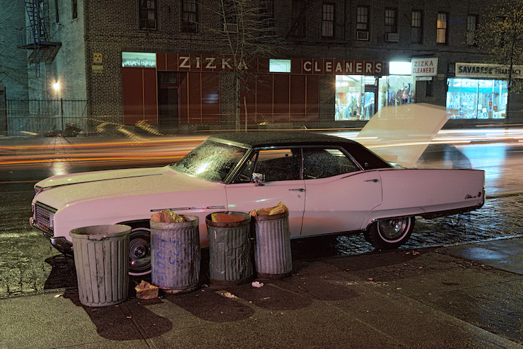 Zizka Cleaners car, Buick Electra, Langdon Clay