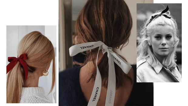 Trend: romantic hair-bows
