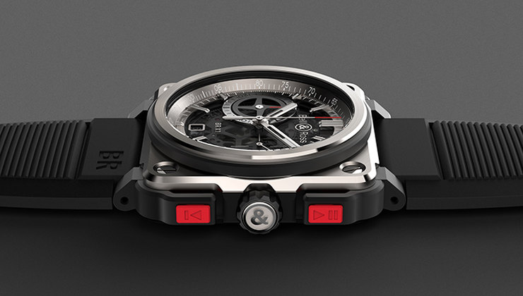 Часы BR-X1 Skeleton Chronograph, Bell & Ross