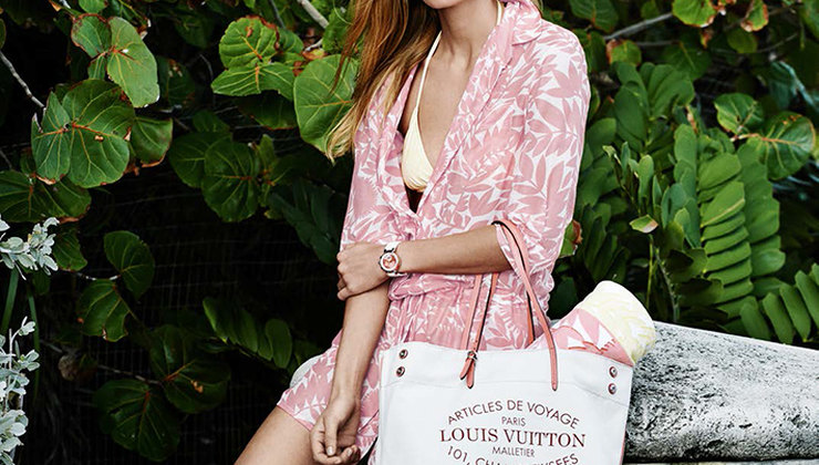 Летняя капсульная коллекция Louis Vuitton
