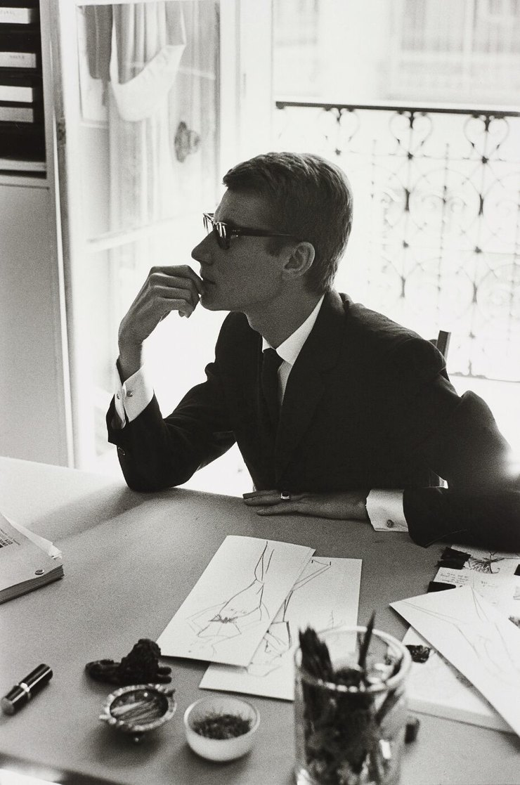 Марк Рибу, Yves Saint-Laurent, Paris 1964