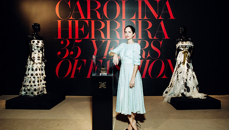 Открытие выставки «Carolina Herrera, 35 Years of Elegance» в ЦУМе